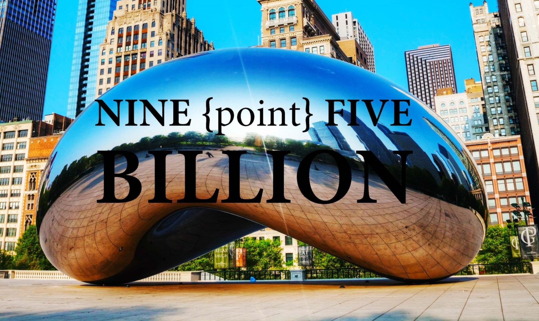9.5 billion